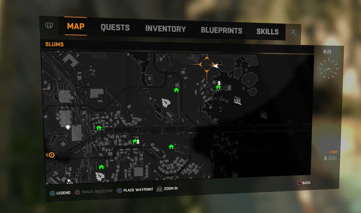 Dying Light Underwater Cave Location Guide Destiny