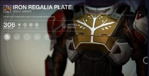 Iron Regalia Plate