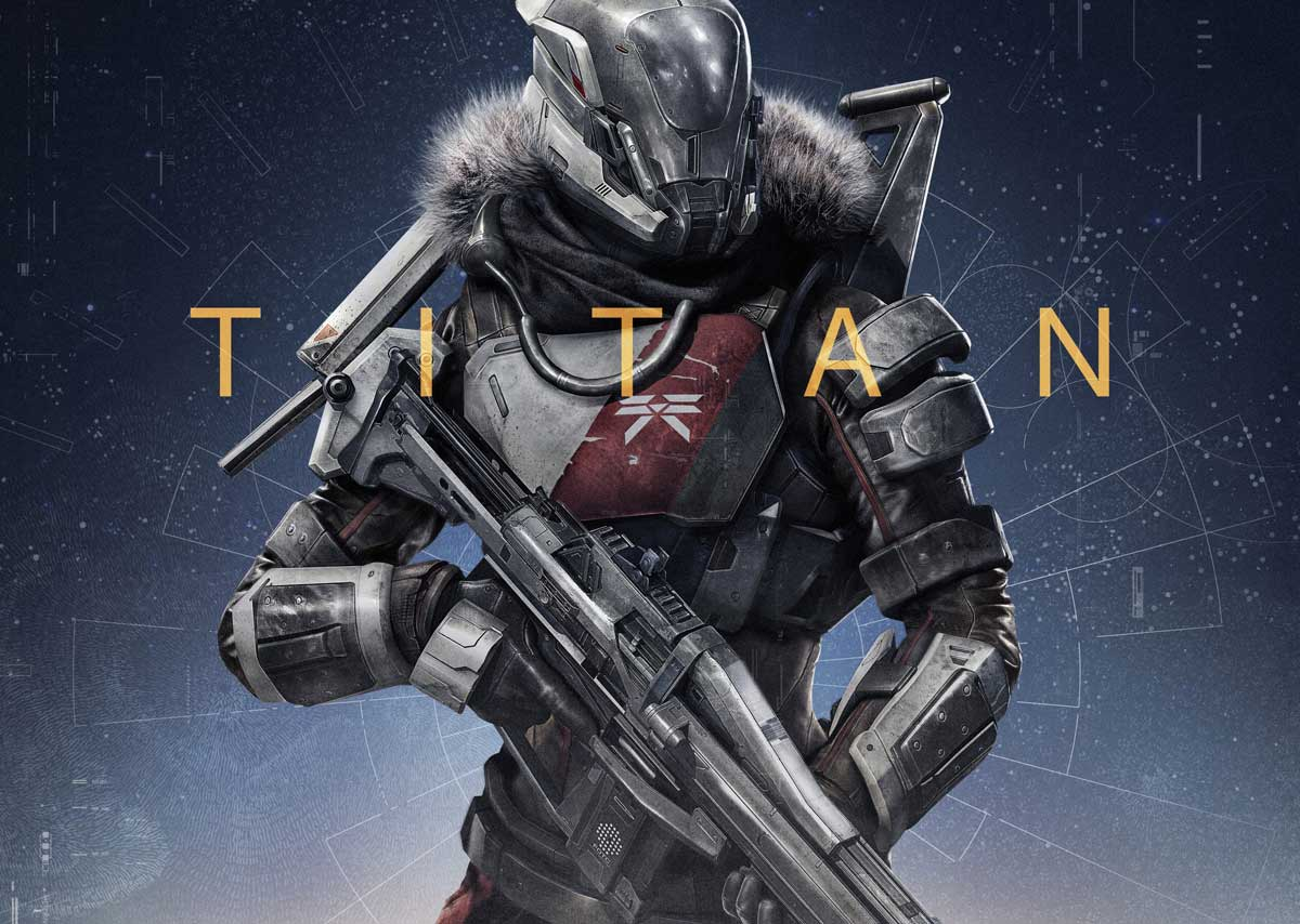 Destiny: Best Helmet and Chest Armor For Titan Class