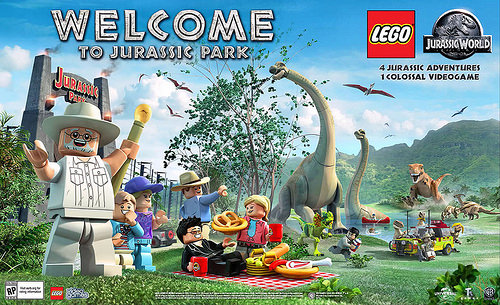 LEGO: Jurassic World – All Red Bricks Details