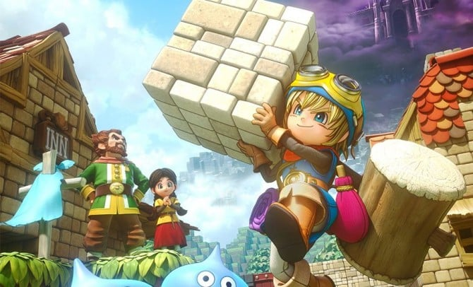 Dragon Quest Builders – Unlocked Recipes By Completing Chapter Challenges