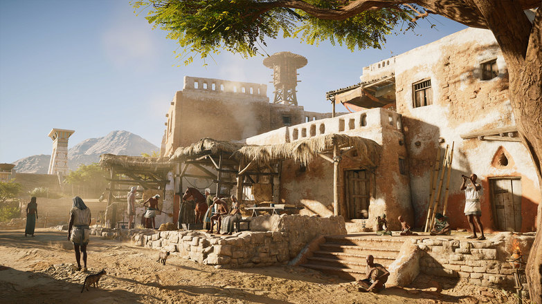 Assassin's Creed Origins – Hermit Location Sites Detail